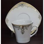 12 پارچه چایخوری طرح آتریسا چینی پردیس