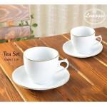 12 پارچه چایخوری دانمارکی لمونژ